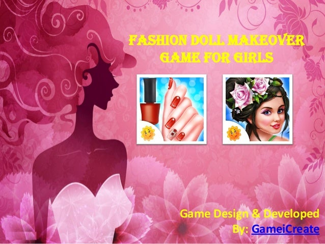 fashion doll makeover game for girls