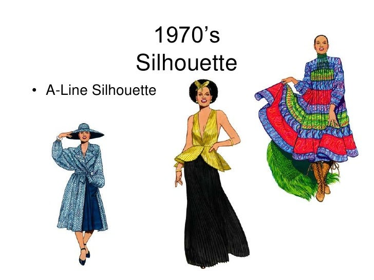 Fashion Silhouette Of The 1980s