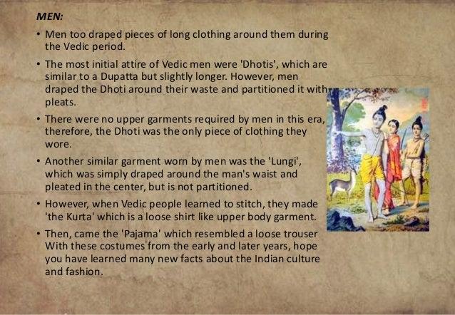 Vedic Period Costumes