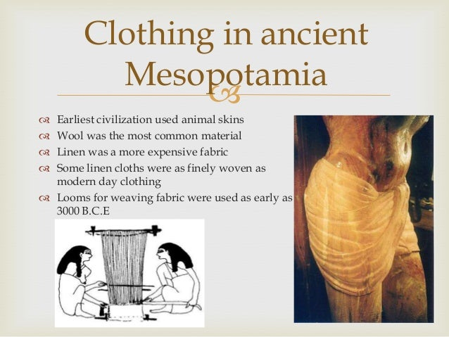 Ancient Mesopotamian Clothing For Women