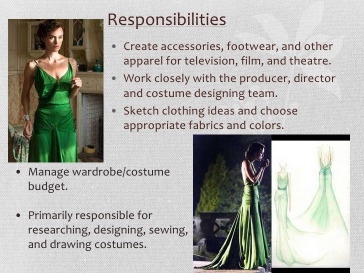 Fashion Industry Costume Designer