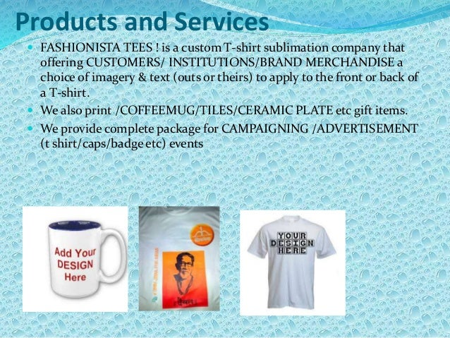 Tshirt business plan for investor