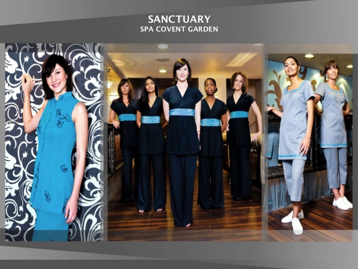 Fashionizer uniforms presentation for Spa employee uniform