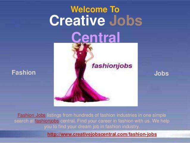Dream Fashion Jobs Internships
