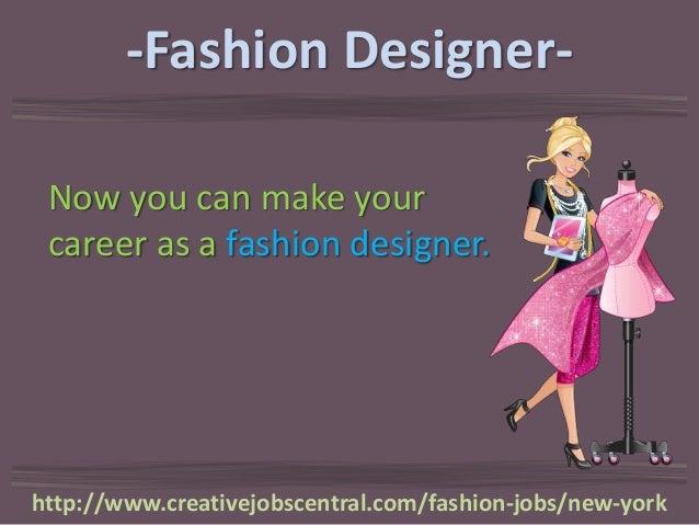 Fashion design jobs in new york city 95
