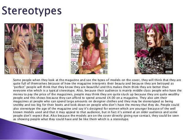VOGUE BAZAAR ELLE 10 The Articles Inside Fashion Magazines