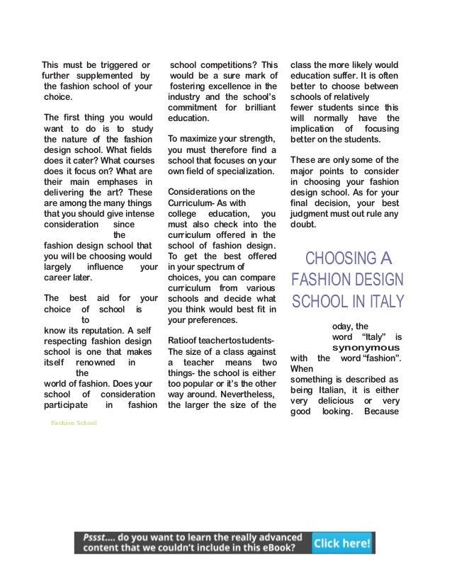 Fashion School Iyb2of2p3n