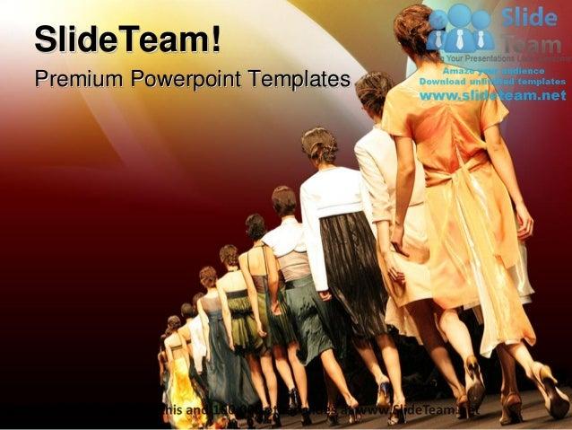 Fashion show entertainment power point templates themes and backgroun premium powerpoint templates toneelgroepblik Gallery