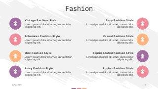 Fashion Presentation Template   Free Download