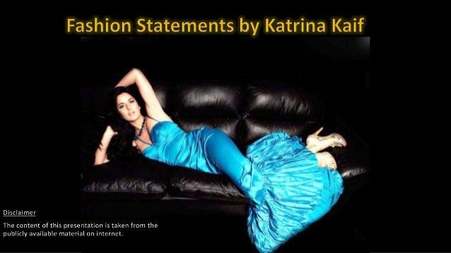 Fashion Statement By Katrina Kaif