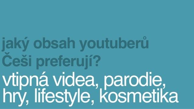 Youtubeři v Čechách