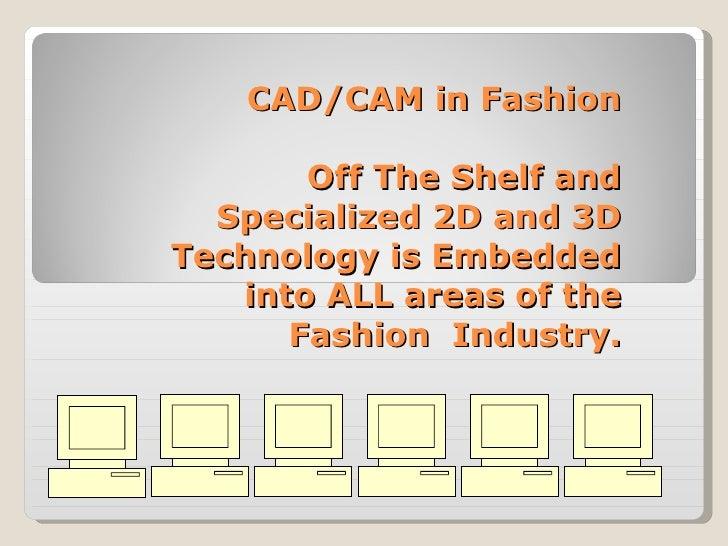 Fashion Technologies Slide 2