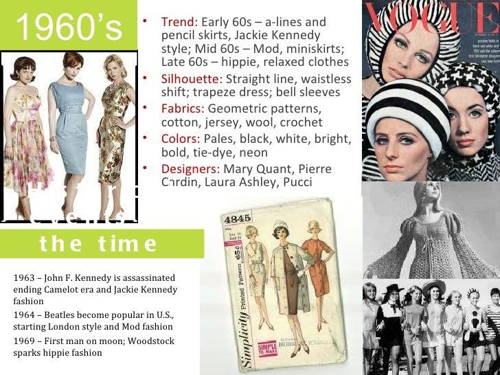 Early 60s dress styles