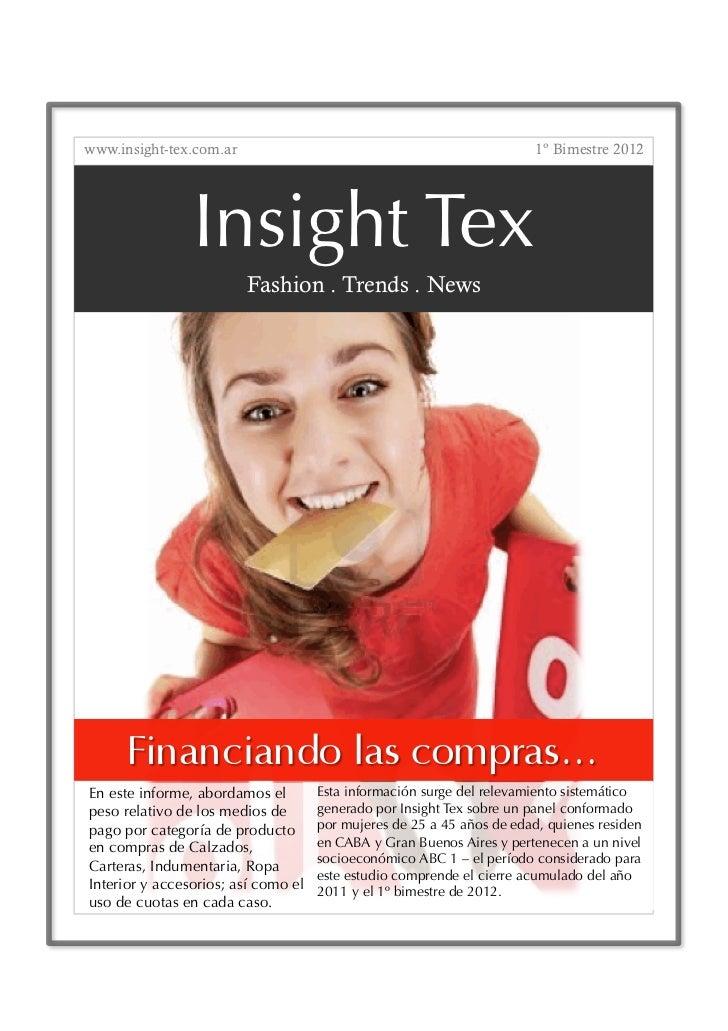 www.insight-tex.com.ar                                                  1º Bimestre 2012                Insight Tex       ...