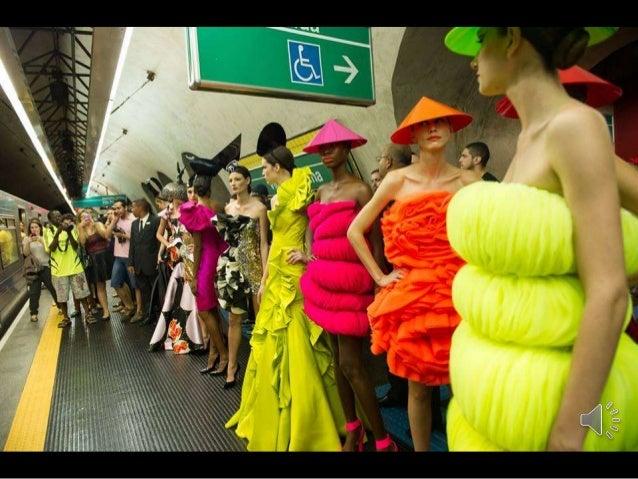 Fashion Week in Sao Paulo Metro