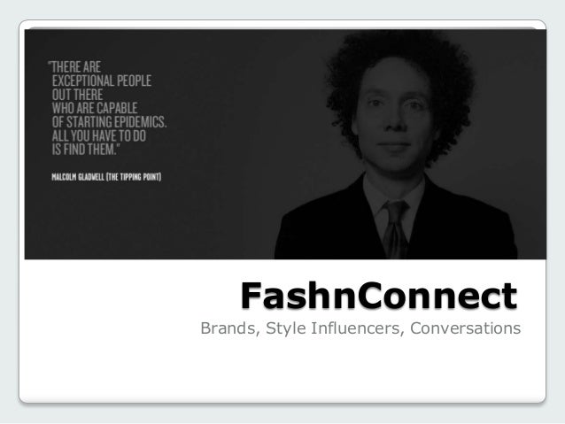 FashnConnect Brands, Style Influencers, Conversations