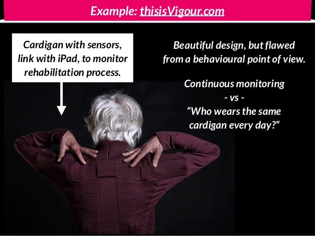 Example: thisisVigour.com Cardigan with sensors,