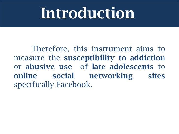 facebook addiction introduction