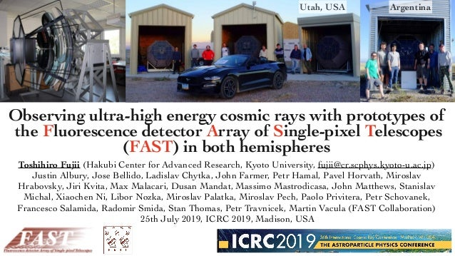 Observing ultra-high energy cosmic rays with prototypes of the Fluorescence detector Array of Single-pixel Telescopes (FAS...