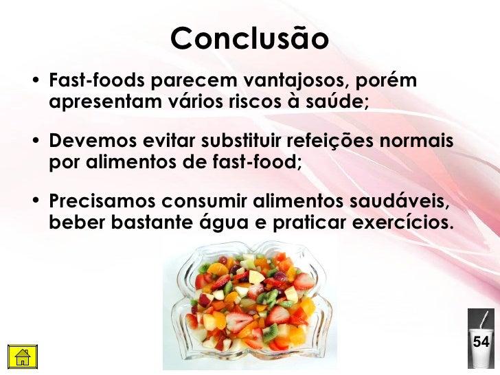 Fast food for Lean cuisine vs fast food