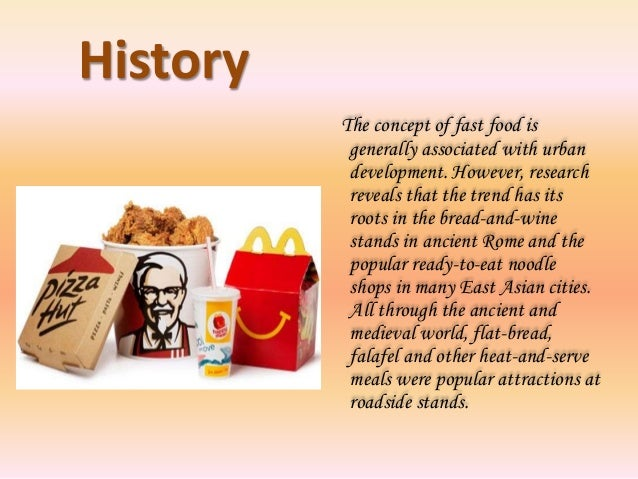 Research On Fast Food And Health