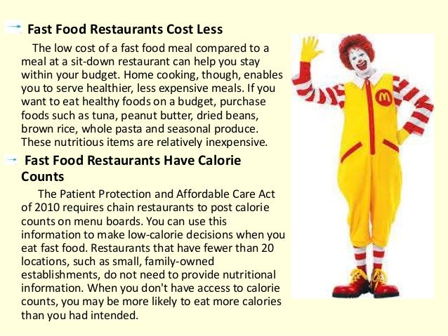 benefits of fast food restaurants i 8 advantages and disadvantages of fast food  the upper east side is filled with restaurants and fast food chains from 1st st up to central park starbucks branches are just a block or.