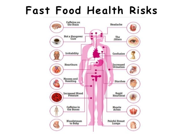 health problems caused by fast food