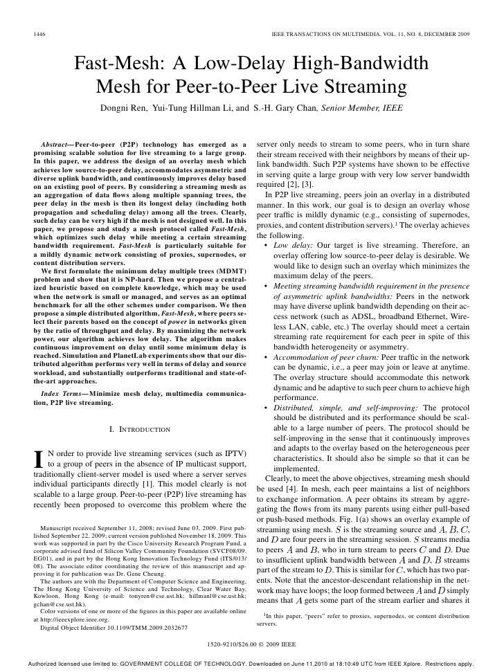 1446                                                                                     IEEE TRANSACTIONS ON MULTIMEDIA, ...