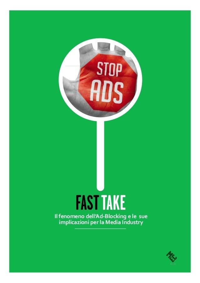 Il fenomeno dell'Ad-Blocking e le sue implicazioni per la Media Industry