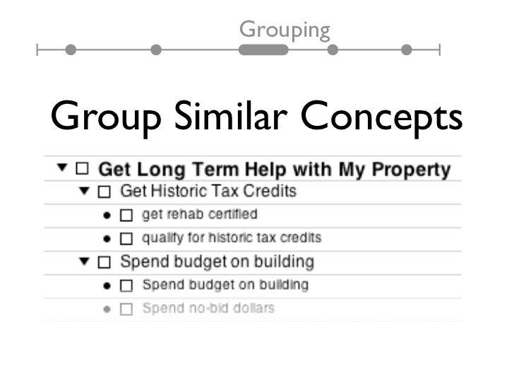 GroupingGroup Similar Concepts