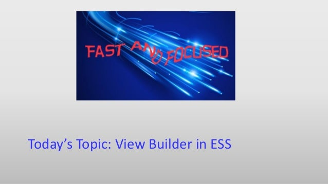 Fast & Focused Webinar: View Builder in Sage HRMS ESS