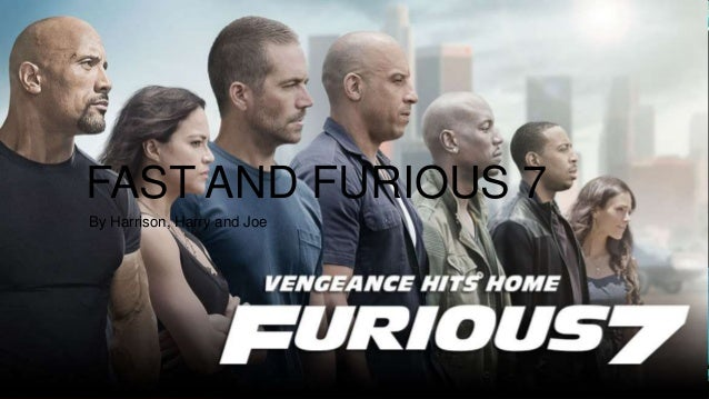 fast and furious 7 1