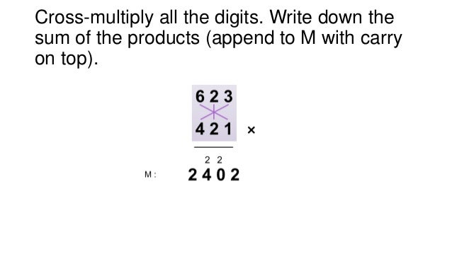 Fast basic math skills - multiply two 3 digit numbers