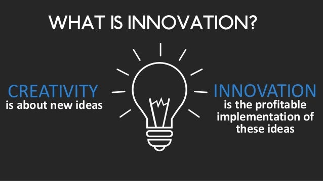 innovation is the - photo #6