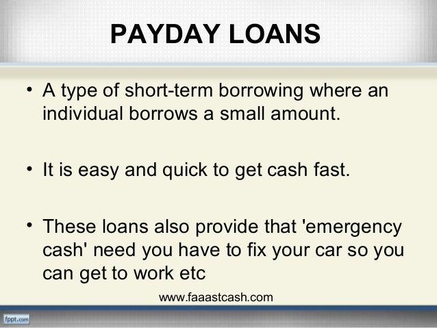 Fast Cash Advances | Payday Loans | FaaastCash PPT Slide 2