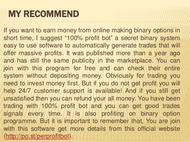Quick cash system binary options review