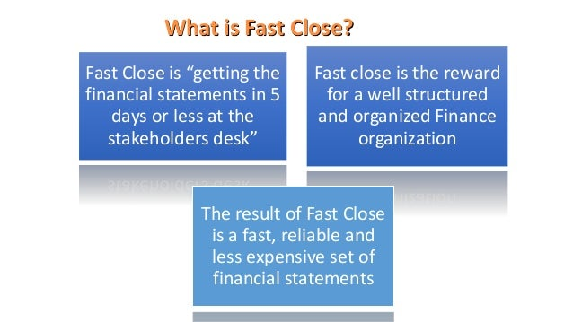 Fast Close Manager screenshots, improve your cashflow and have a great ROI Slide 2