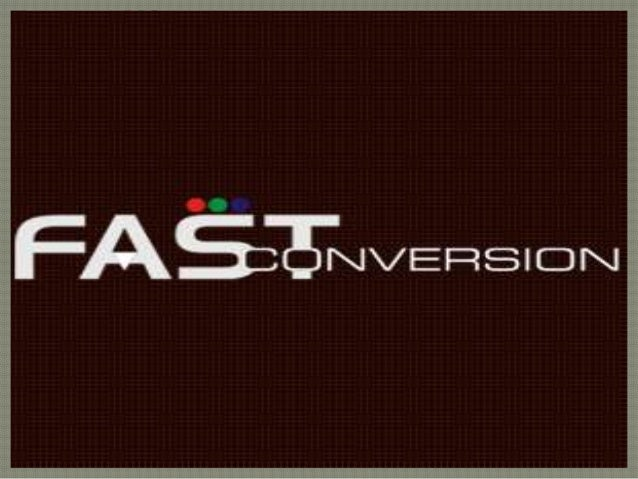 Fast Conversion IT Solutions (P) Ltd.  Fast Conversion is an India-based company who takes pride in our excellent services...