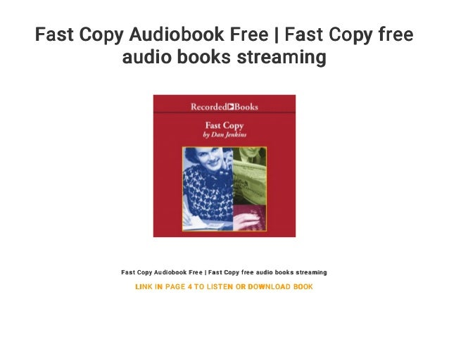 Fast Copy Audiobook Free | Fast Copy free audio books streaming
