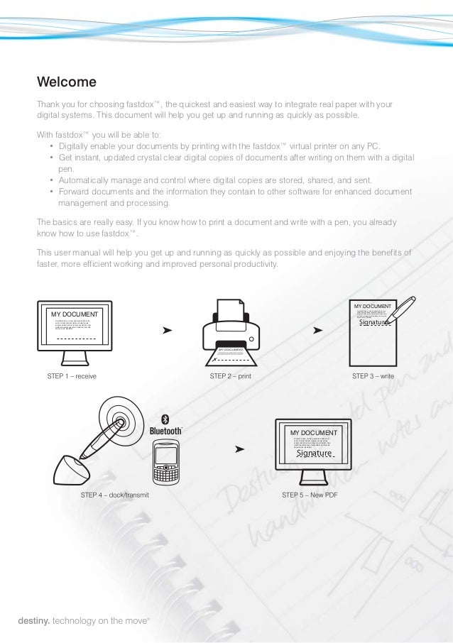 Fastdox user manual