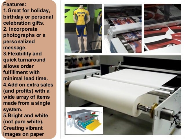 Fast Dry Sublimation Transfer Paper For Fashion Garment With Reggaini…