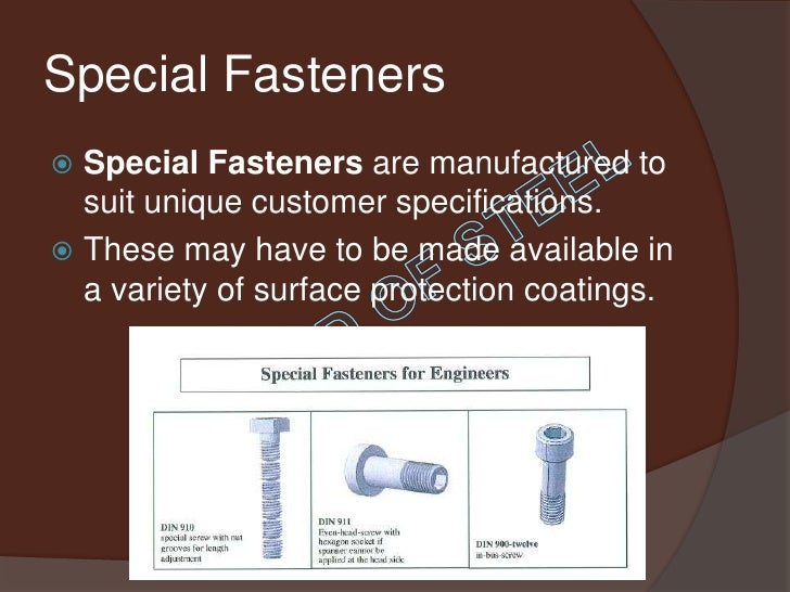 Fasteners Presentation