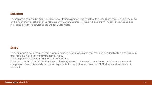 FasterCapital - Portfolio 14 Dorie - Data - Acquire, Decipher & Deliver