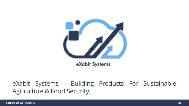 FasterCapital - Portfolio FasterCapital - eXabit Systems Video Pitch 23