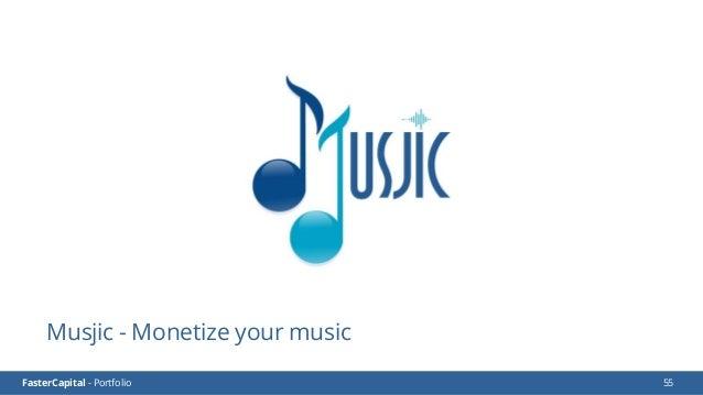 FasterCapital - Portfolio FasterCapital - Musjic Video Presentation 56