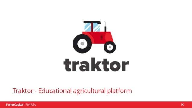 FasterCapital - Portfolio FasterCapital - Traktor Video Presentation 91