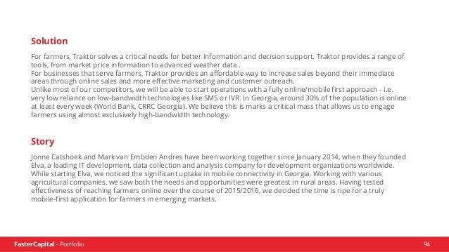FasterCapital - Portfolio 95 www.fastercapital.com sales@fastercapital.com US Landline: (512) 400-0256 UAE Mobile: +971 55...