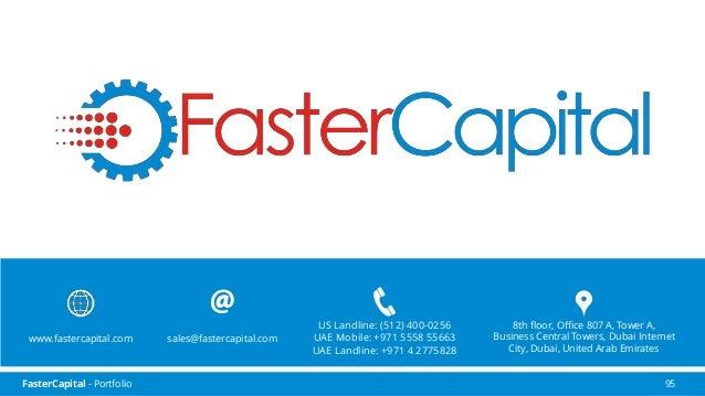 FasterCapital Acceleration Program 4th round 2016