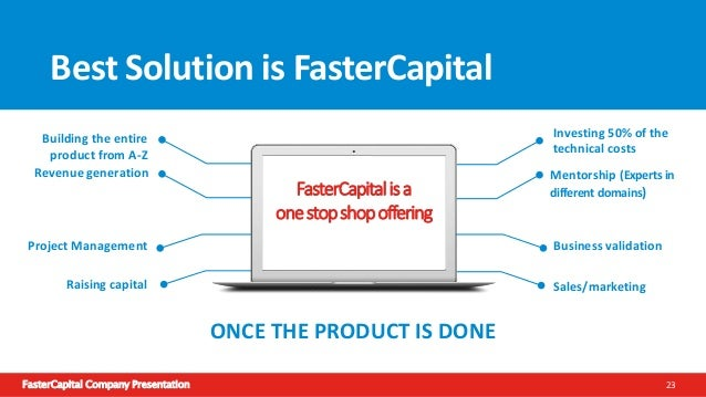 FasterCapital Company Presentation 24 How does it work? Entrepreneur submit the business plan to us for review If all the ...