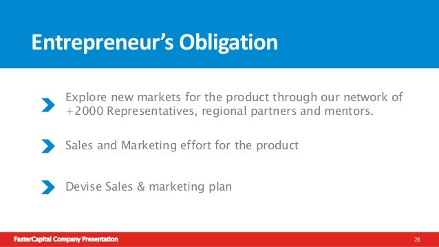 FasterCapital Company Presentation 29 Testimonial from Entrepreneurs FC has helped a lot in refining the idea and enabling...